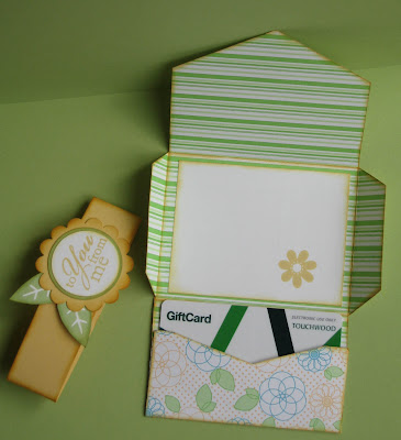 Project Tuesday: Project Tuesday - Gift Card/Envelope