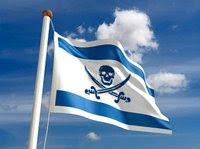 Echte vlag Israël.