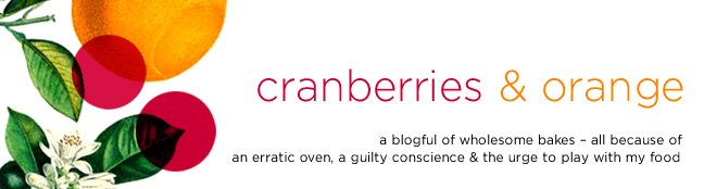 cranberries and orange