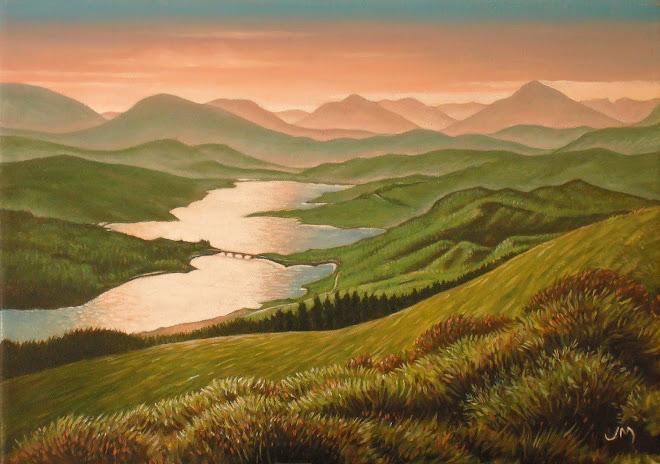 Loch Garry Sunset
