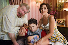 Vernon, Dudley, and Petunia Dursley
