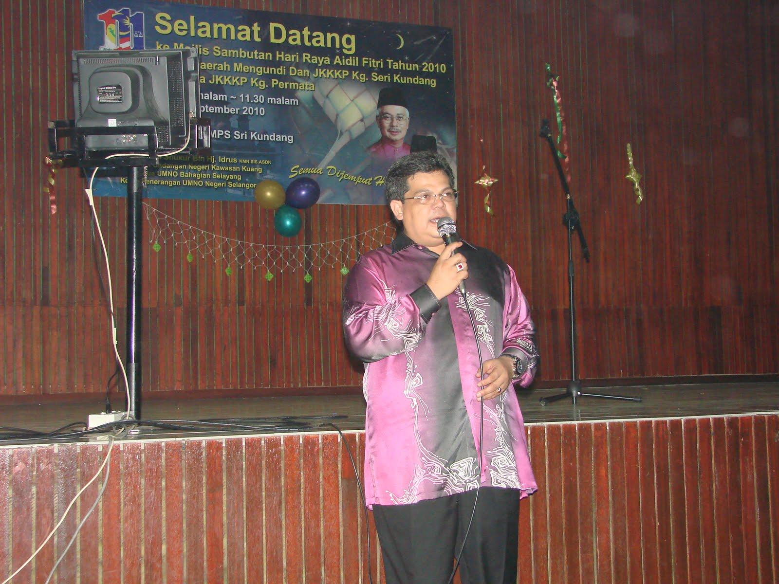 Sambutan Hari Raya di Kg.Melayu Sri Kundang - Anjuran JKKKP/PDM