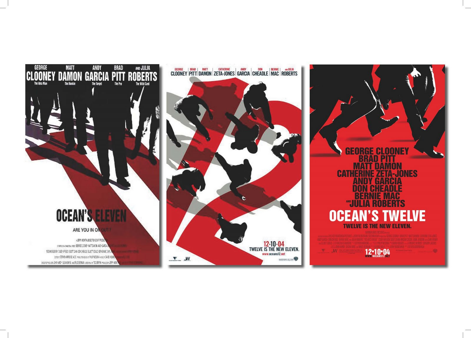Poster design mac - Oceans 11 12 Poster Design