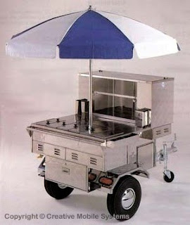 hot dog cart le v ritable chariot hot dog am ricain. Black Bedroom Furniture Sets. Home Design Ideas