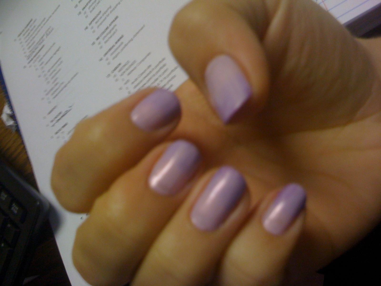 charm \u0026 confetti ombre nails , lavender