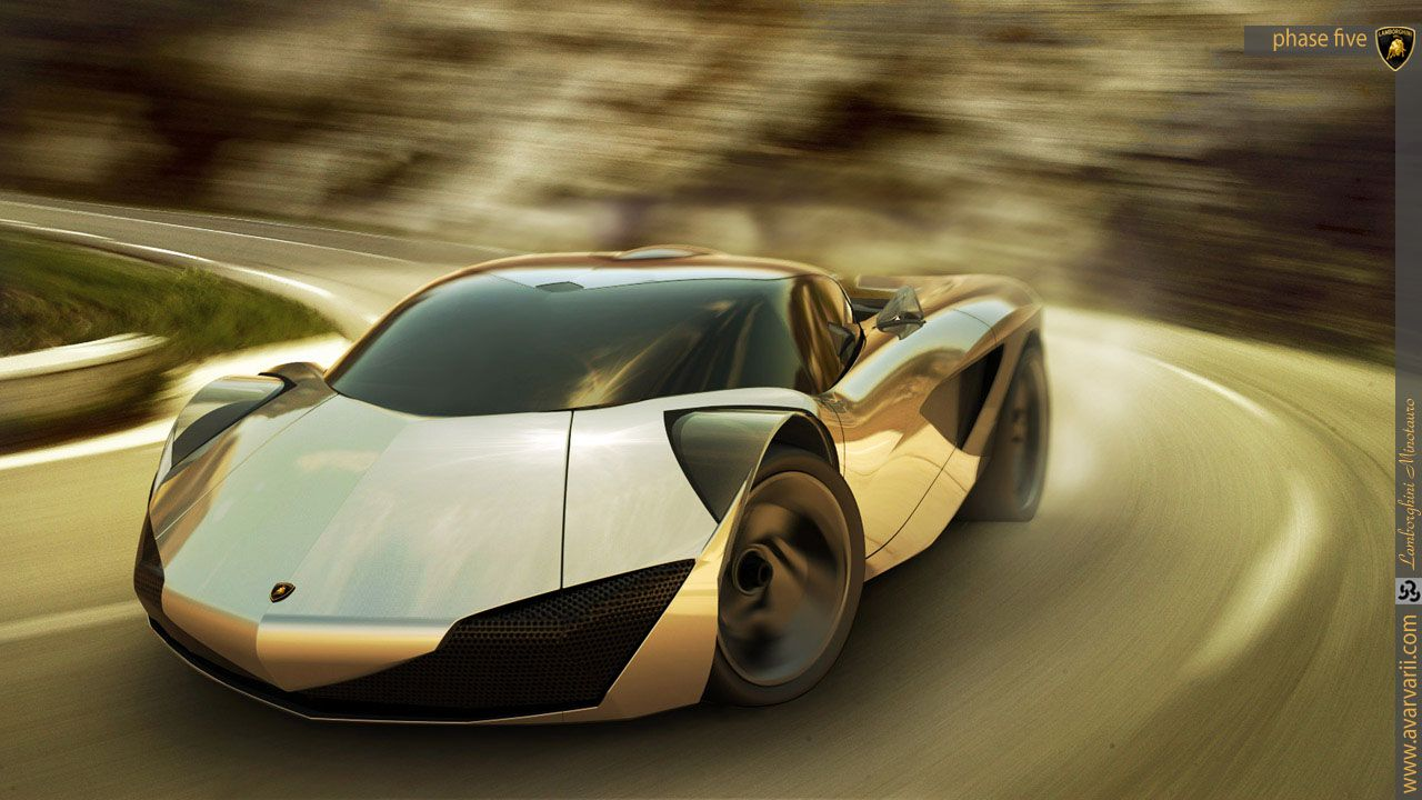 Lamborghini Minotauro Concept 2020 Car Modification