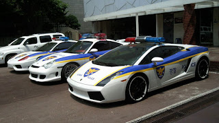 korea police super cars