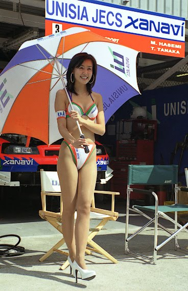 Umbrella Girl. Beauty Girl in a sexy pose