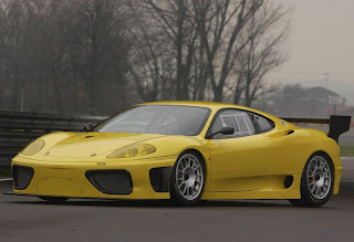 yellow ferrari supercar wallpaper