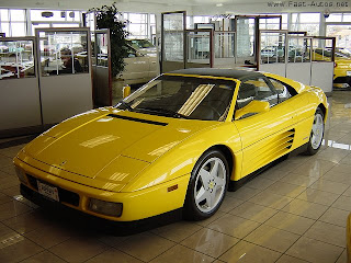 yellow ferrari car hot wallpaper