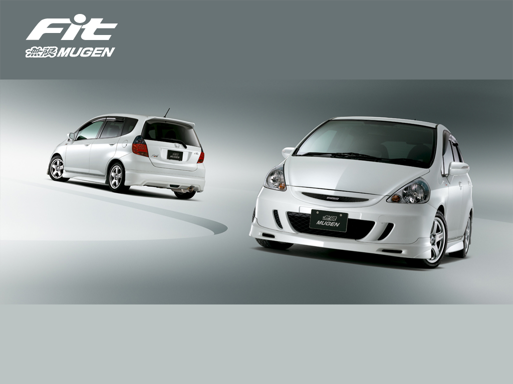 Honda fit MUGEN Silver edition