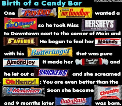 The Site That Breathes: The Birth of a Candy Bar