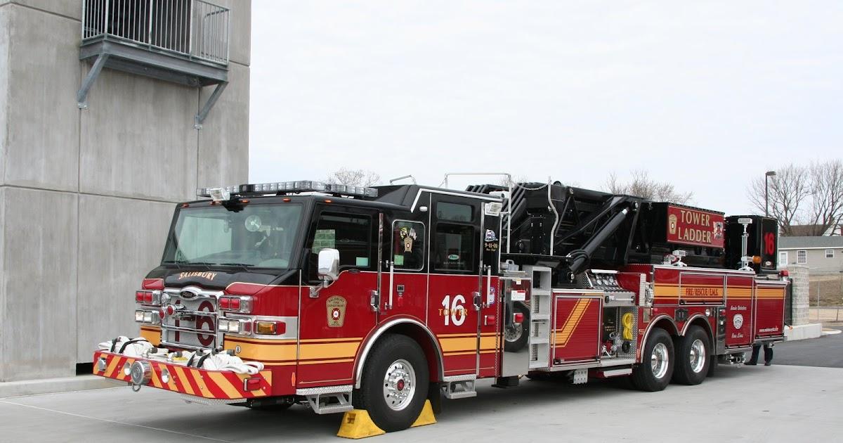 1 Million Dollar Fire Truck >> Salisbury Soapbox: Salisbury Fire Departments New Tower Ladder