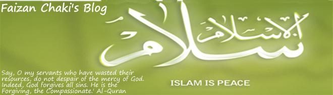 Faizan Chaki's Blog