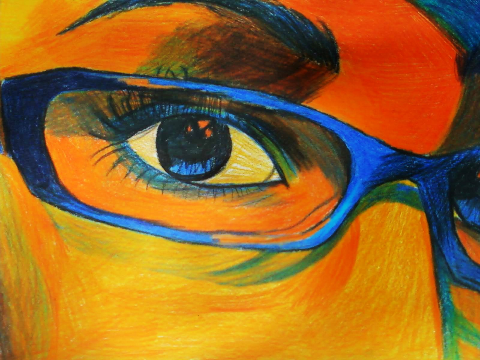 Complementary Colors Drawing