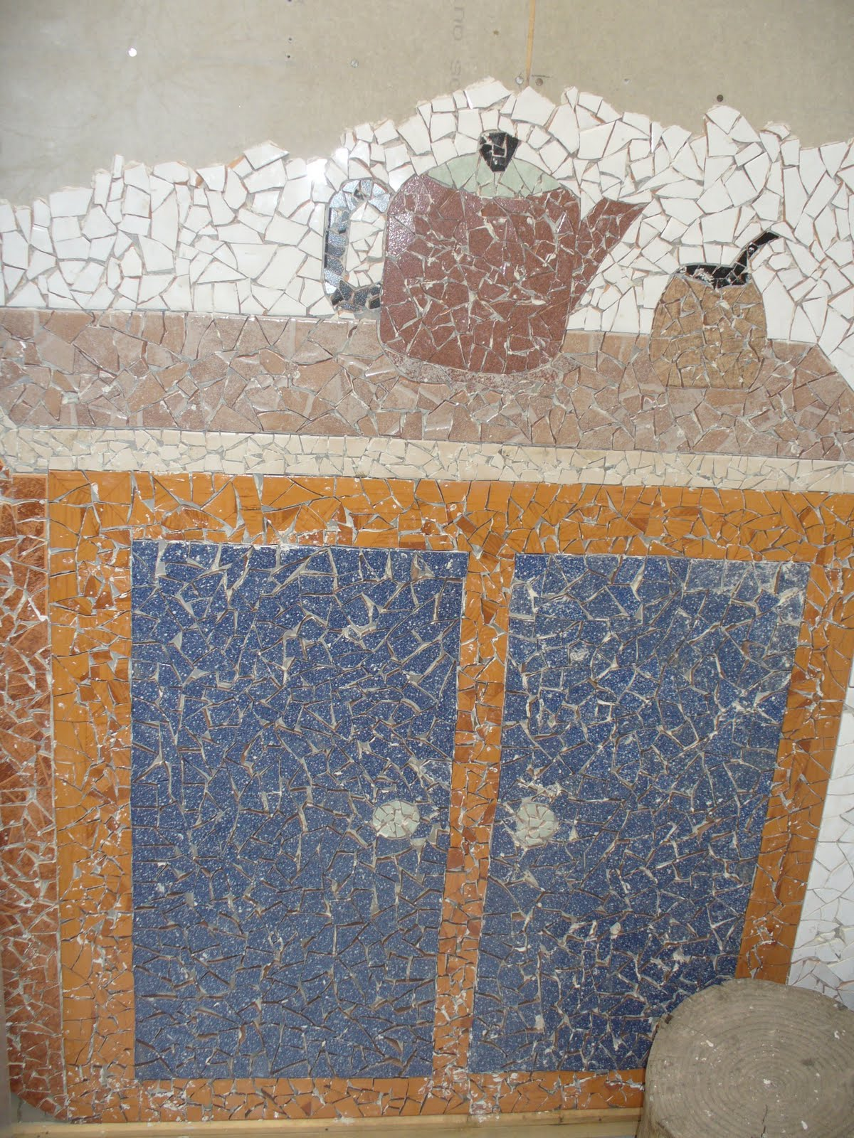 Murales en mosaicos de cer mica - Murales de ceramica ...
