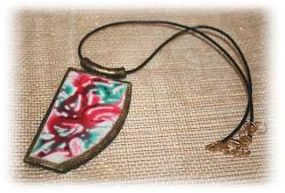 Polymer clay and liquid polymer clay - project piece