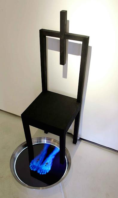 La Sillla de Pilatos,instalación,2002