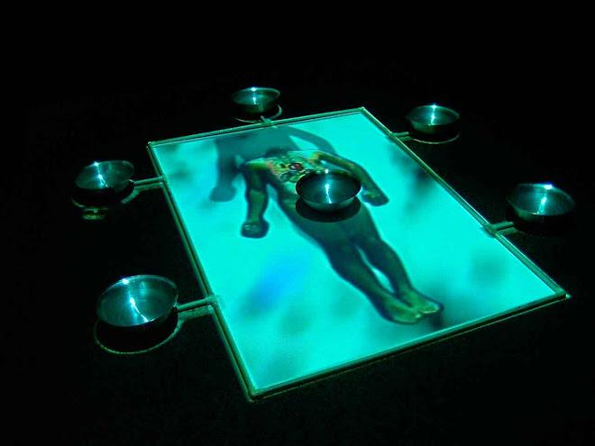 El Canal de los Impulsos,video-instalación,2003