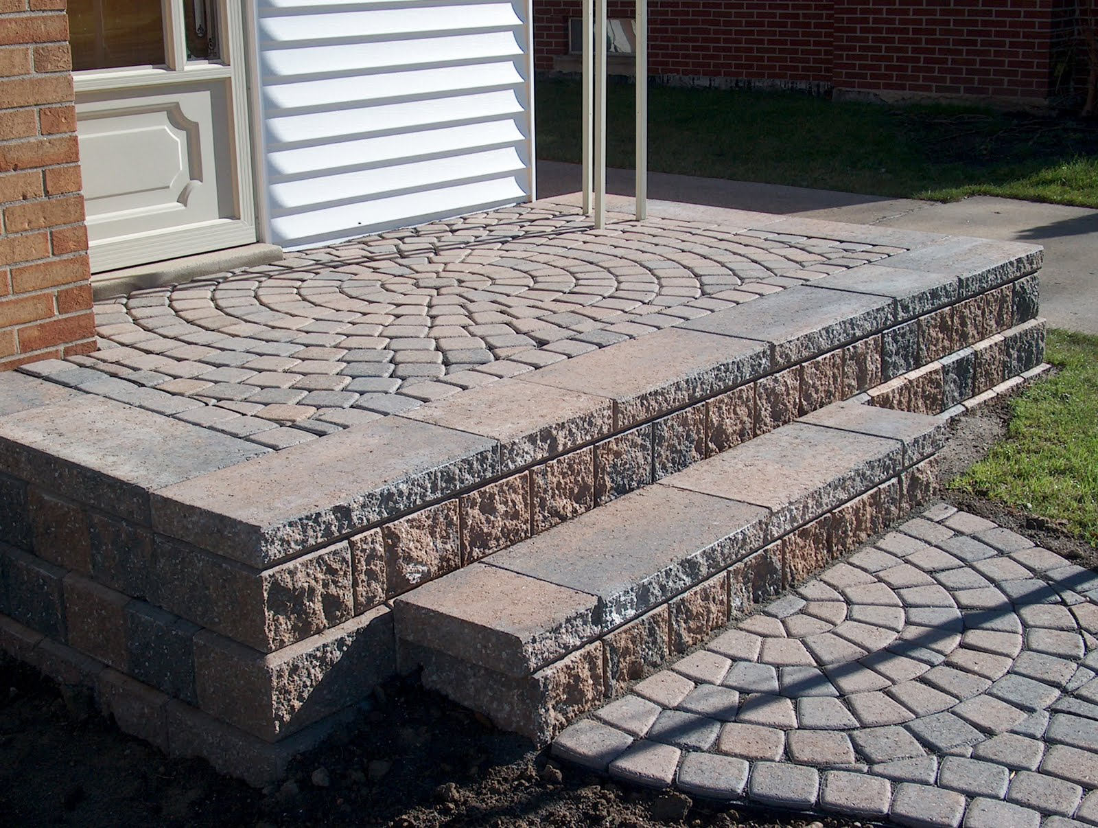 Adding Pavers To Concrete Patio Decorate Building A Paver Patio Patio Design Ideas