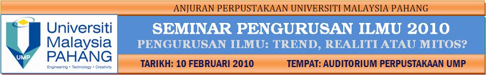 SEMINAR PENGURUSAN ILMU 2010