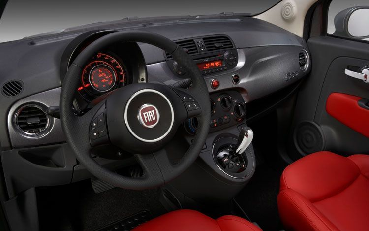 Fiat 500 Blackjack special edition