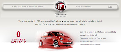Fiat Cinquecento 'Prima Edizione' Registry announced :  italian cars italian design italy electric cars