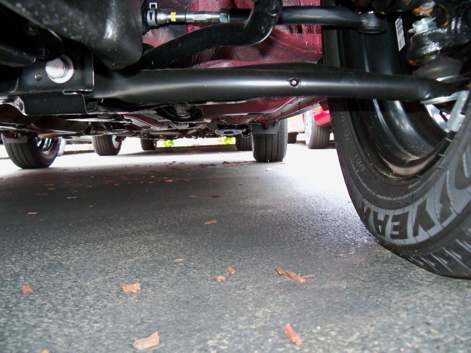 Examining the fiat 500 s suspension