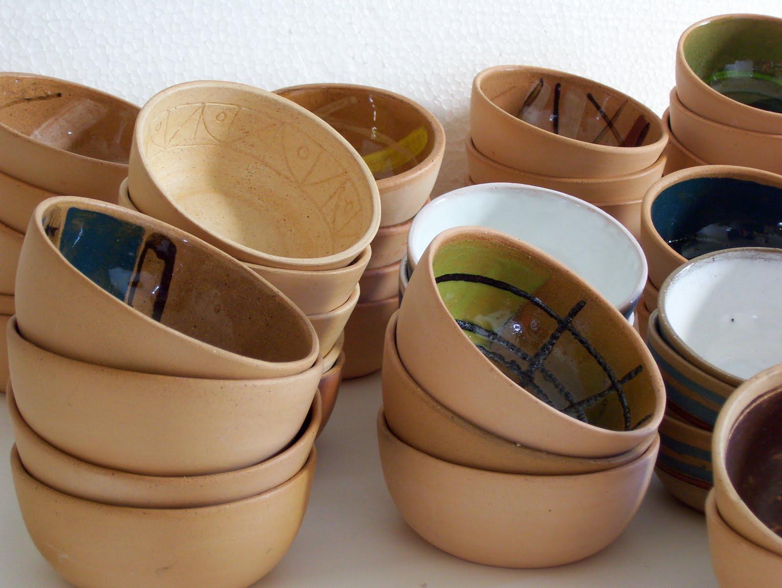 Copagira cer mica artesanal cazuelas esmaltadas for Engobes para ceramica
