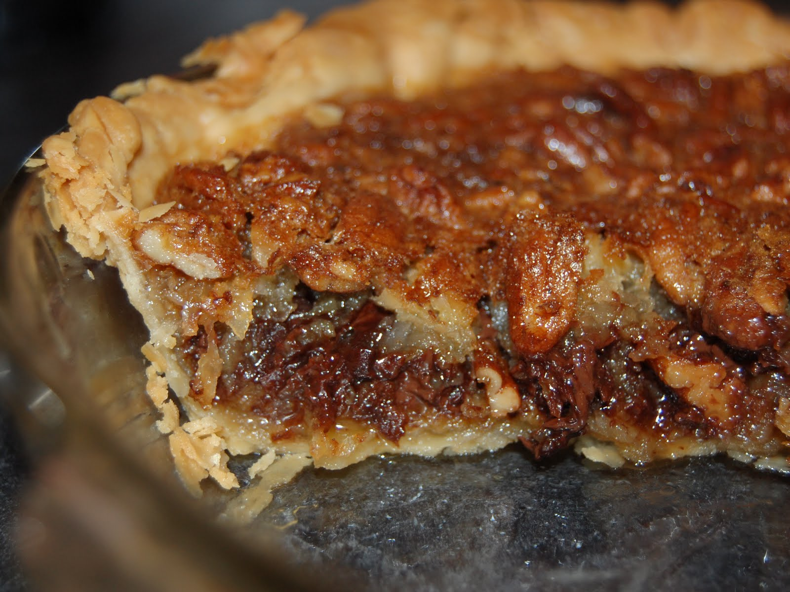 Cassie Craves: Coconut Chocolate Pecan Pie