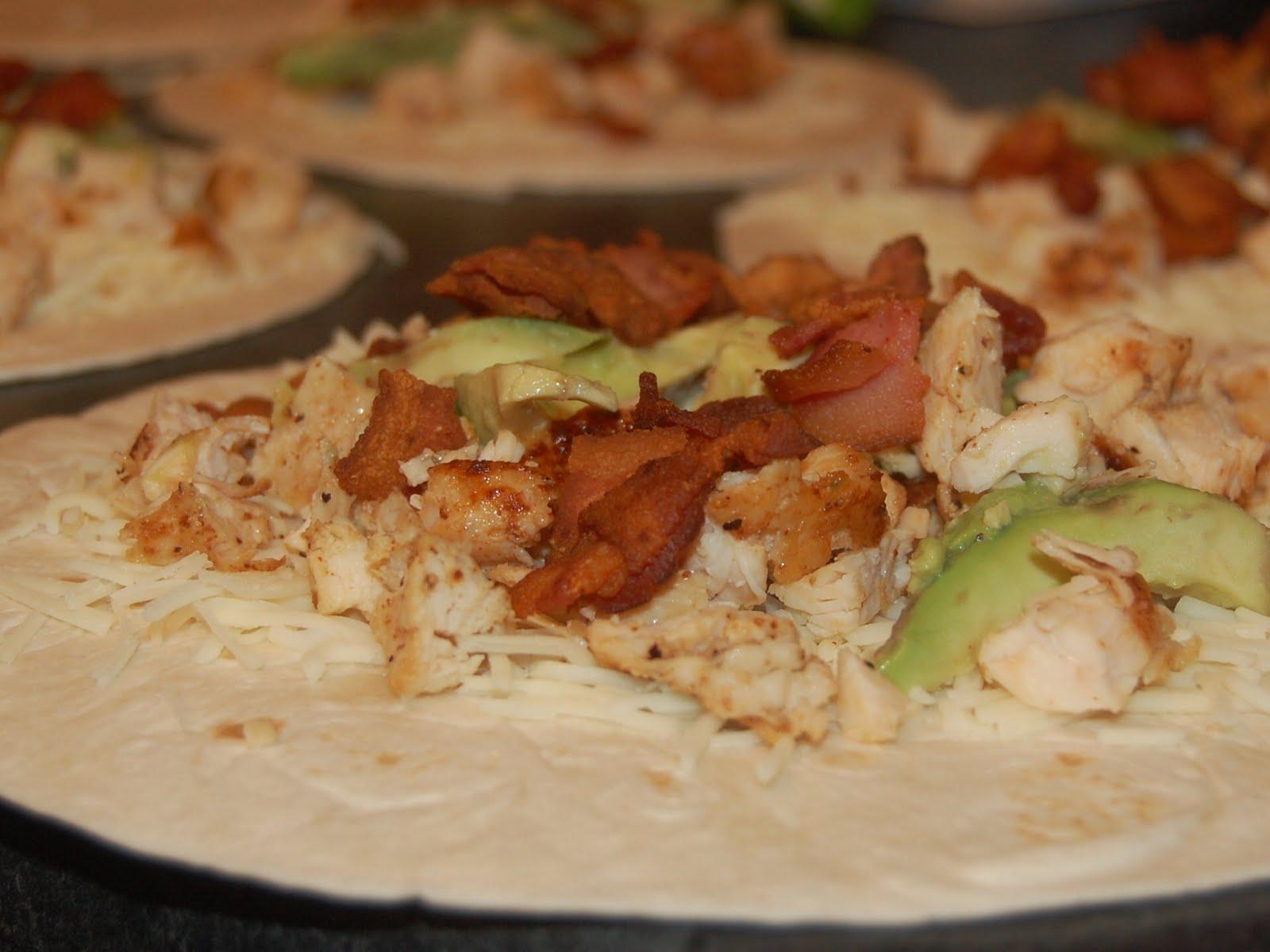 Cassie Craves: Chicken Bacon Avocado Quesadillas