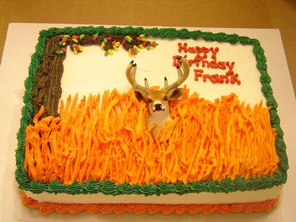 Hunting Decorated Cakes