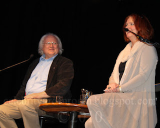 Colin Baker the sixth Doctor Who and 'Leela' Louise Jameson