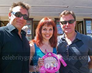 Matt Healy, Michelle Morris and Christopher Villiers