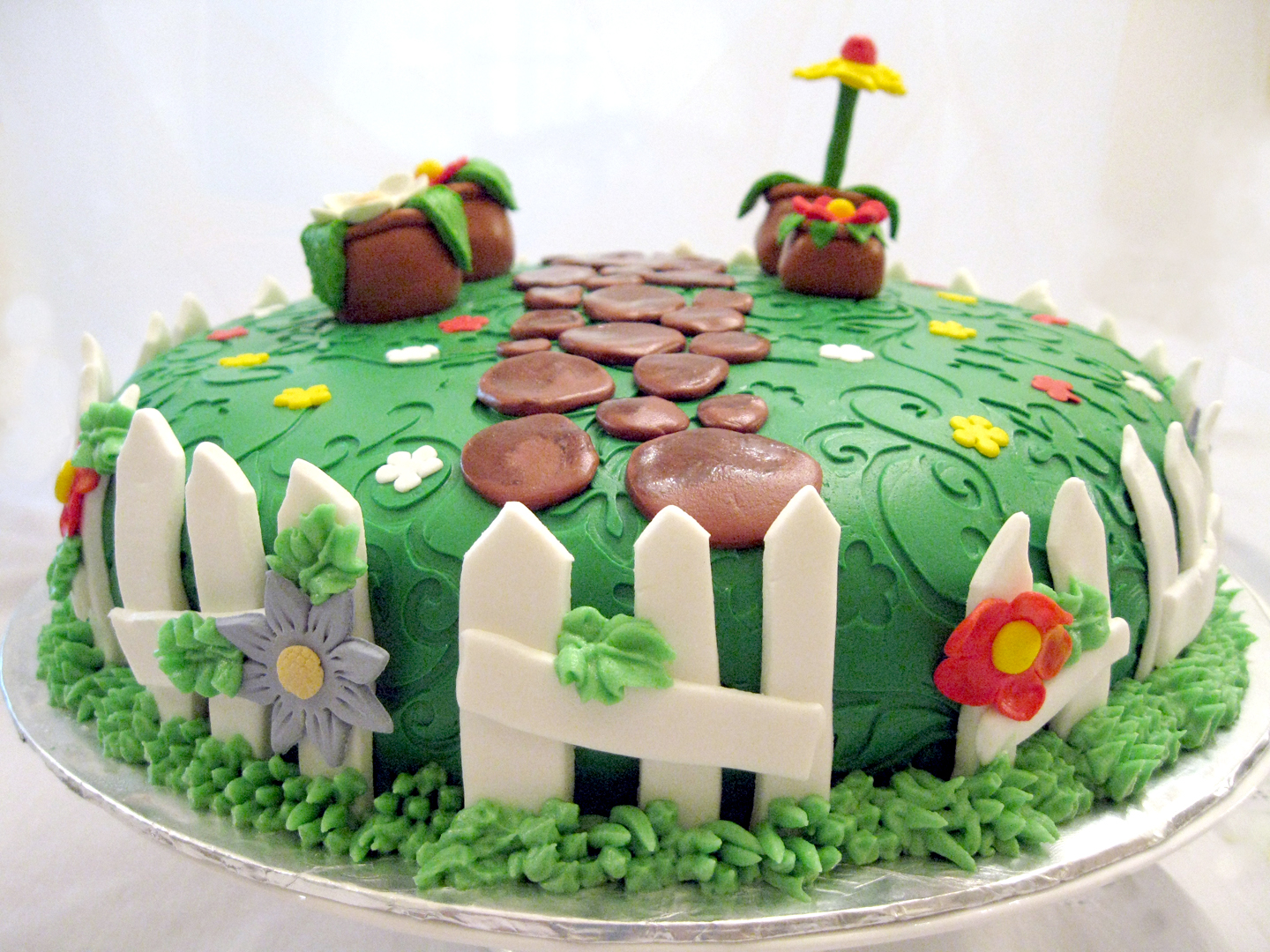 The Cake Boutique: Nana\'s Garden