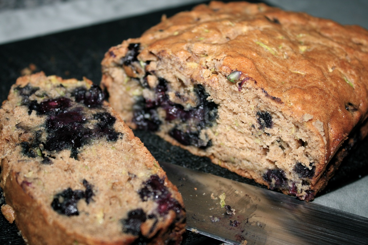See Brooke Cook: Blueberry Zucchini Bread