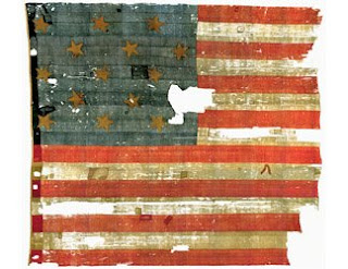 recycle American flag