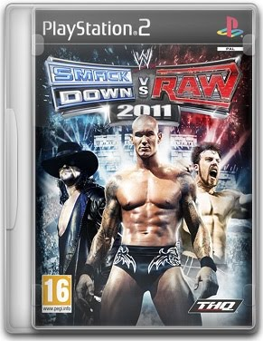Capa WWE Smackdown vs. Raw 2011   PS2