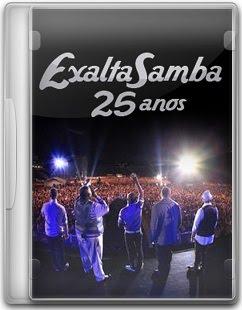 Capa Exaltasamba   25 Anos Ao Vivo   DVD