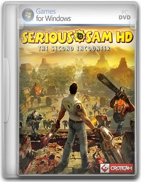 Capa Serious Sam HD The Second Encounter   PC (Completo)