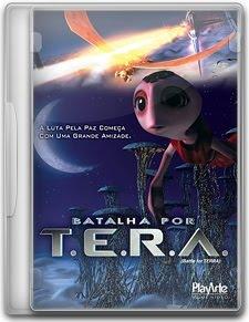 Capa Batalha Por T.E.R.A   DVDRip   Dublado (Dual Áudio)