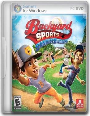 Capa Backyard Sports: Sandlot Sluggers   PC (Completo)
