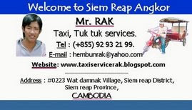 Rak's name card