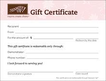 En tout temps, demandez pour votre certificat cadeau SU! Pochette en prime.