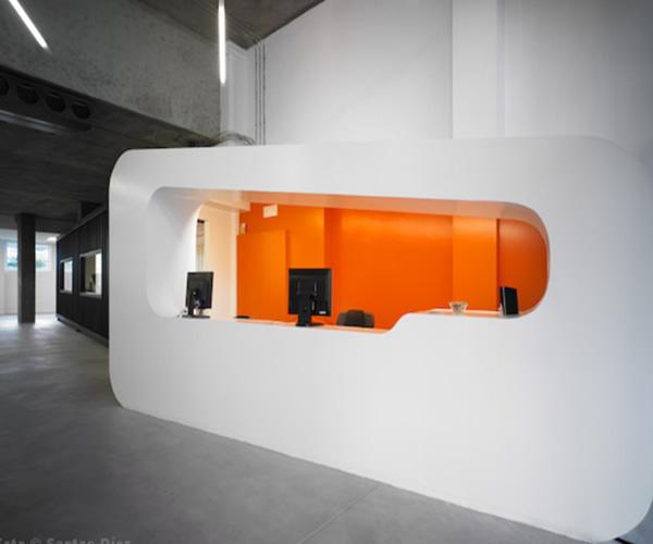 : Work space for modern office interior design by Javier Quinteiro