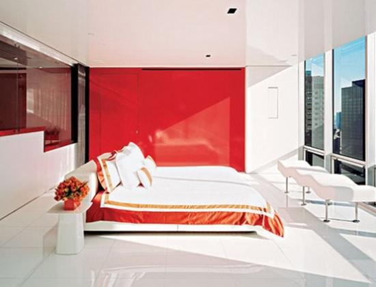 Architecture minimalist apartment with futuristic for Manhattan interior designs