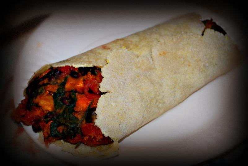 ... Cream Recipe, Yam & Black Bean Burritos, Gluten free tortilla recipe