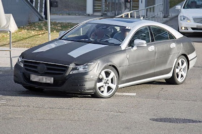 2011 Mercedes CLS spied with