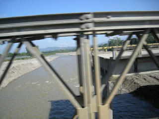 broken bridge, Honduras