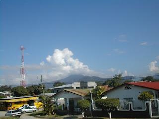 Blue skies, La Ceiba, Honduras